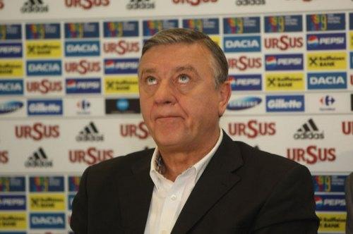 """Sursa: www.prosport.ro: """"De aici încolo ne vom califica la un turneu final o dată la 6 sau 8 ani!"""", Mircea Sandu, președinte FRF."""